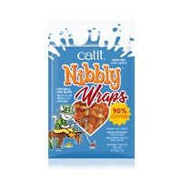 Catit Nibbly Wraps Chicken and Fish Recipe - 30 g (1 oz)