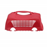Catit Replacement Top Hatch Right Door for Catit Cabrio Carrier - Cherry Red