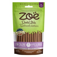 Zoë Dental Sticks for Dogs – Low Calorie - Cinnamon Flavour - 187 g (6.6 oz)