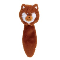 Dogit Stuffies Dog Toy - Forest Ball Friend - Fox - 32 cm (12.5 in)