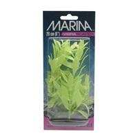 Marina Vibrascaper Plastic Plant - Hygrophilia - Green-Dayglo - 20 cm (8 in)
