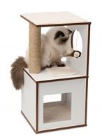 Catit Vesper V-Box - White - Small - 37 x 37 x 72.5 cm