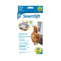 Catit Design SmartSift Replacement Liners - 12 pack For Cat Pan Base