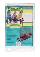 Living World Gravel Paper - Medium - 8 pack - 35 cm x 40 cm (9.5 x 15.75 in)