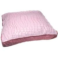 "Dogit Style Square Mattress Dog Bed-Savage, Pink,Small. 64cm x 64cm x 12.7cm (25"" x 25"" x 5"")."