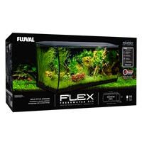 Fluval FLEX Aquarium Kit - White - 123 L (32.5 US Gal)