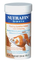Nutrafin basix Floating Goldfish Pellets - 85 g (3 oz)