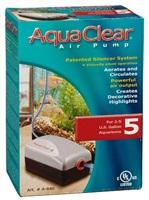 AquaClear 5 Air Pump - 7.5 to 19 L (2 to 5 U.S. gal.)