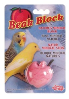 Living World Mineral Block for Parakeets - Red Apple