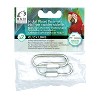HARI Quick Links Nickel-Plated Fasteners - 2 pack - Large - 10 mm