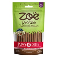 Zoë Dental Sticks for Puppies - Cinnamon Flavour - 175 g (6.2 oz)