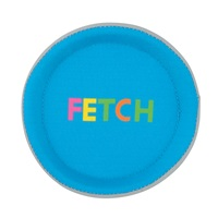 Zeus Mojo Brights Fetch Discs - Blue & Yellow - Assorted - 13 cm dia. (5 in)