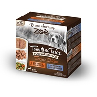 Zoë Tempting Trios Poultry Variety Pack - 4 cups - 100 g (3.5 oz)
