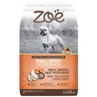 Zoë Small Breed Dog Food - Turkey, Chickpea and Sweet Potato Recipe - 2 kg