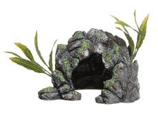 Marina Polyresin Decor Cave Ornament - Medium - 15.5 x 22.5 x 16.5 cm (6 x 8.8 x 6.5 in)