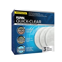 Fluval FX4/FX5/FX6 Quick-Clear - 3 pack