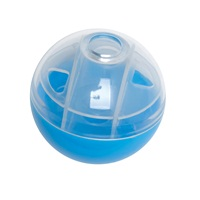 Cat Love Furry Frolics Cat Toy - Blue Treat Ball - 5 cm dia.