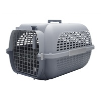 Catit Voyageur Cat Carrier - Gray/Gray - Medium - 56.5 cm L x 37.6 cm W x 30.8 cm H (22 in x 14.8 in x 12 in)