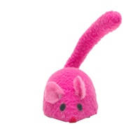 Cat Love Play Zippy Mouse - Pink - 8 x 4 x 6 cm (3.1 x 1.5 x 2.3 in)