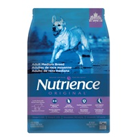 Nutrience Original Adult Medium Breed - Lamb Meal with Brown Rice Recipe - 5 kg (11 lbs)