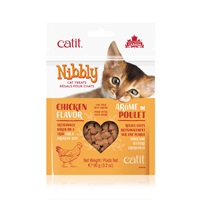 Catit Nibbly Cat Treats - Chicken Flavour - 90 g (3.2 oz)