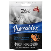 Zoë Purrables Cat Treats - Chicken - 75 g (2.6 oz)