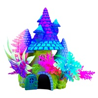 Marina iGlo Ornament - Fantasy House with Plants - 20 cm (8 in)