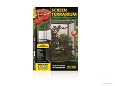 "Exo Terra Screen Terrarium – Medium/X-Tall - 60 cm x 45 cm x 90 cm (24"" x 18"" x 36"")"