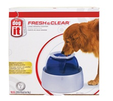 Dogit Design Fresh & Clear Large Dog Drinking Fountain - 10.5 L (355 fl oz)