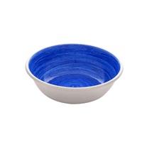 Dogit Stainless Steel Non-Skid Dog Bowl - Blue Swirl - 350 ml (11.8 fl.oz.)