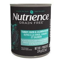 Nutrience Subzero Wet Food for Dogs - Turkey, Duck & Salmon Recipe - 374 g