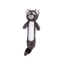 Dogit Stuffies Dog Toy - Forest Stick Friend - Raccoon - 39 cm (15.5 in)