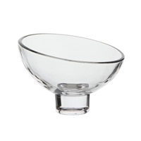 Catit Glass Diner Sculpted Glass Dish - 1 x 200 ml (1 x 6.7 fl oz)