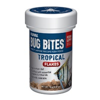 Fluval Bug Bites Tropical Flakes - 18 g (0.63 oz)