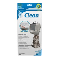 Catit Clean Liners for Jumbo Cat Pan - 10 pack - Unscented