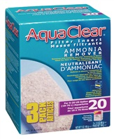 AquaClear 20 Ammonia Remover Filter Insert - 198 g (7 oz) - 3 pack