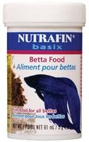 Nutrafin basix Betta Food - 5 g (0.1 oz)