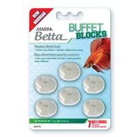 Marina Betta Buffet Blocks - 12 g (0.42 oz)