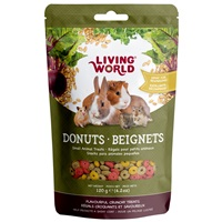Living World Small Animal Donuts - 120 g (4.2 oz)