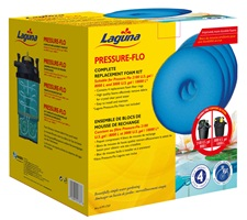 Laguna Pressure-Flo Replacement Foam - 27 cm - 4 pack