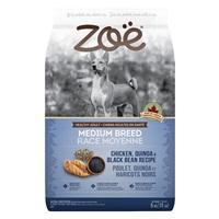Zoë Medium Breed Dog Food - Chicken, Quinoa and Black Bean Recipe - 5 kg