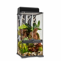 "Exo Terra Advanced Paludarium & Rainforest Terrarium - Mini X-Tall - 30 W x 30 D x 60 H cm (12"" x 12 ""x 24"")"