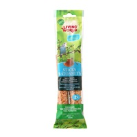 Living World Budgie Sticks - Honey Flavour - 60 g (2 oz) - 2 pack