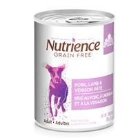 Nutrience Grain Free Pork, Lamb & Venison Pâté - 369 g (13 oz)