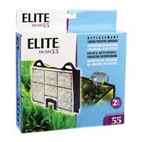 Elite Hush 55 Replacement Carbon Cartridge - 2 pieces
