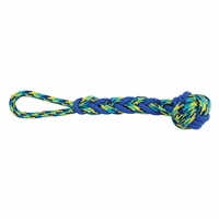 K9 Fitness by Zeus Rope and TPR Ball Tug - 40.64 cm dia. (16 in dia.)