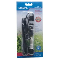 "Marina Submersible Aquarium Heater - Mini 25 W - 15 cm (6"")"