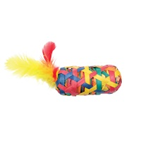 Cat Love Terra Toys Catnip Cat Toy - Cylinder with Feathers - Large
