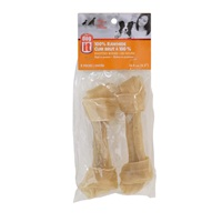 Dogit Rawhide Knotted Bones - 16.4 cm (6.5 in) – 2 pack