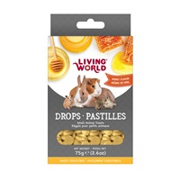 Living World Small Animal Drops - Honey Flavour - 75 g (2.6 oz)